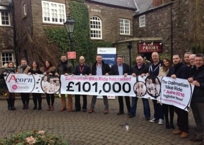 Celebrating Reaching £101,000